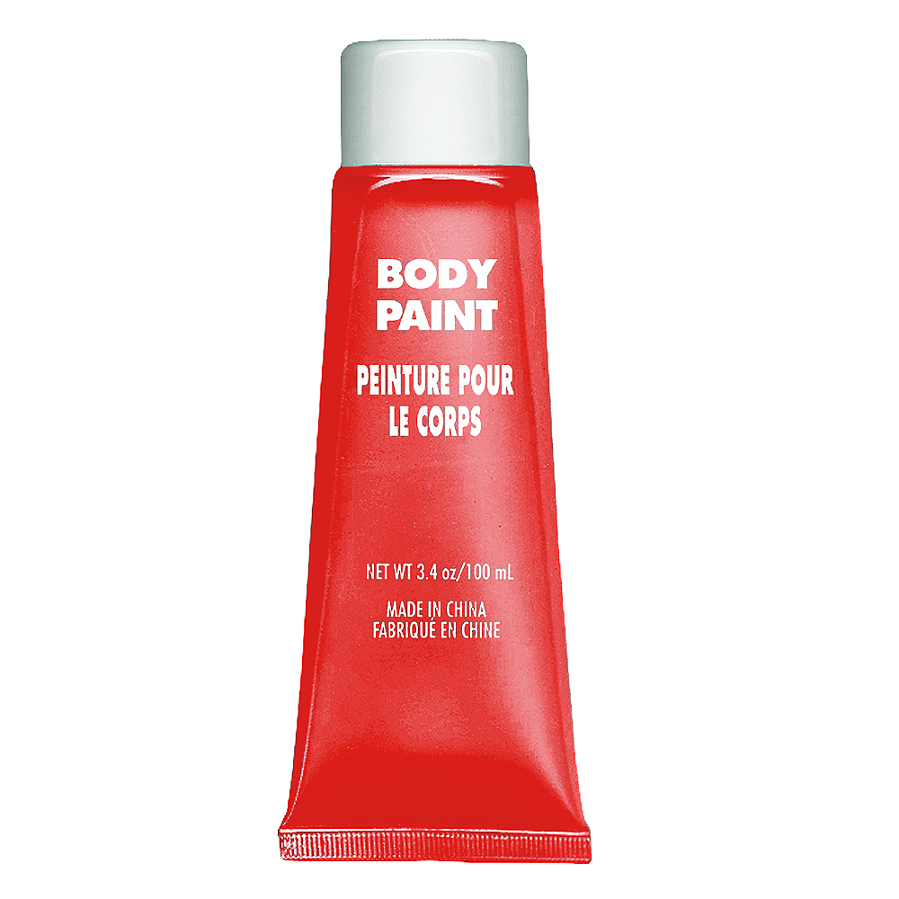 Red Body Paint Image #1