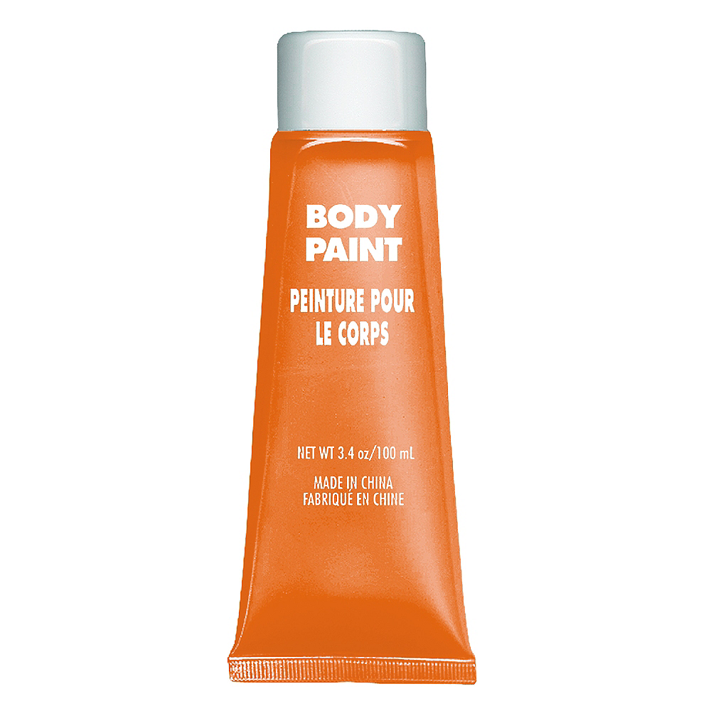 Orange Body Paint Image #1