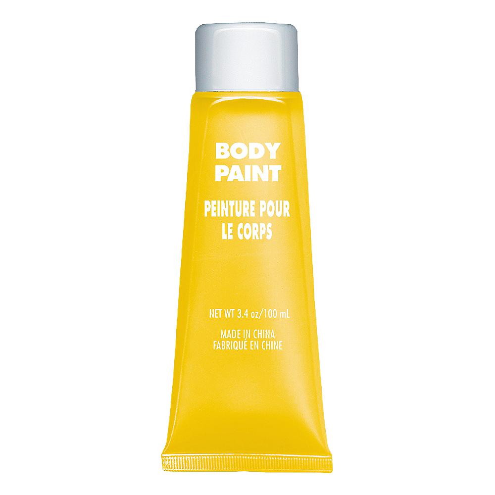 Yellow Body Paint Image #1