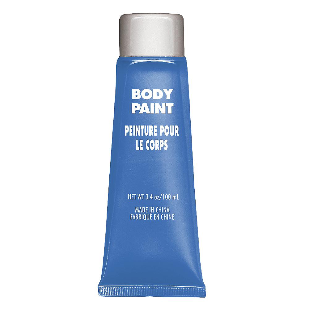 Blue Body Paint Image #1