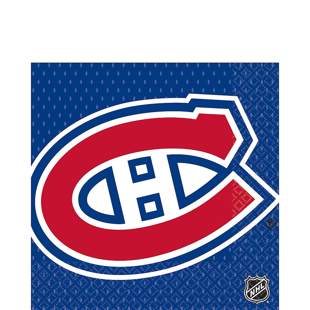 Montreal Canadiens Lunch Napkins 16ct Image #1