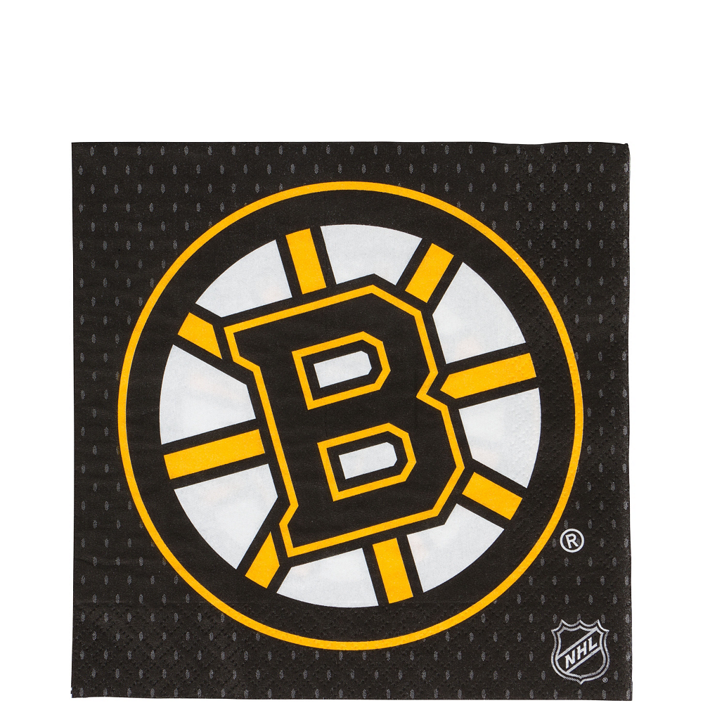 Nav Item for Boston Bruins Lunch Napkins 16ct Image #1
