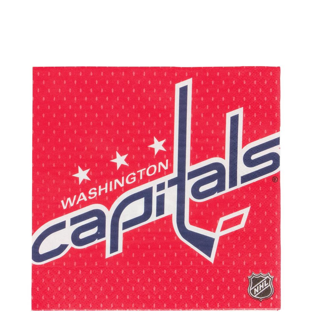 Washington Capitals Lunch Napkins 16ct Image #1