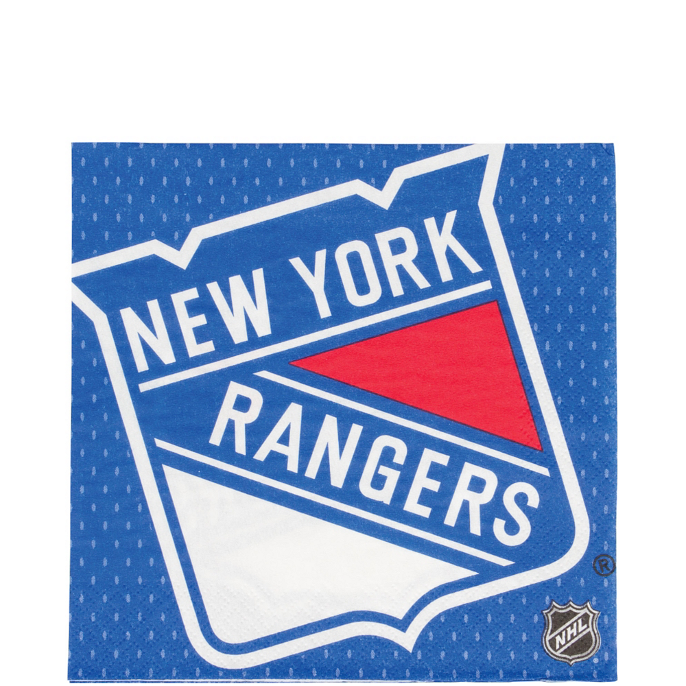 New York Rangers Lunch Napkins 16ct Image #1