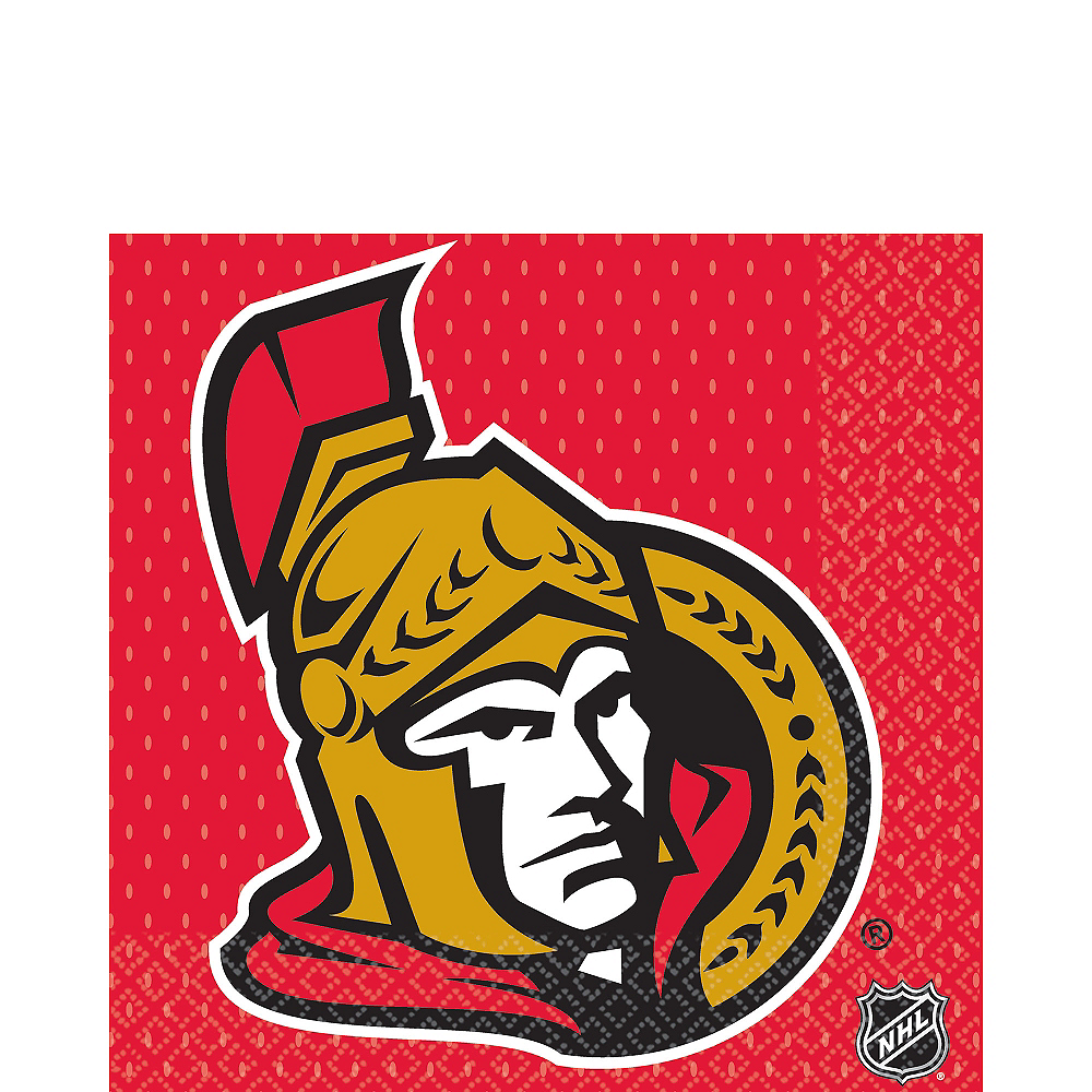 Ottawa Senators Lunch Napkins 16ct Image #1
