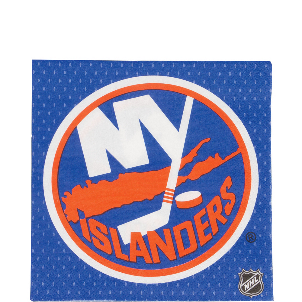 New York Islanders Lunch Napkins 16ct Image #1