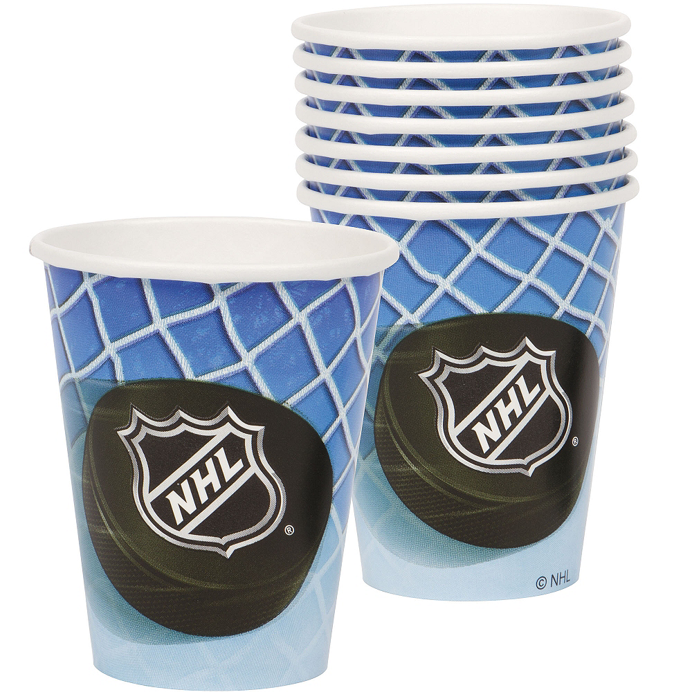 NHL Ice Time Cups 8ct Image #1