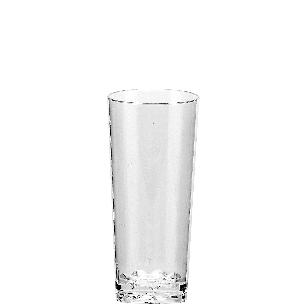 Nav Item for Mini CLEAR Plastic Cordial Glasses 10ct Image #1