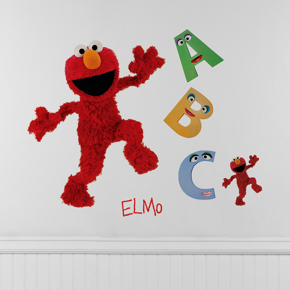 Elmo Wall Decals Image #1
