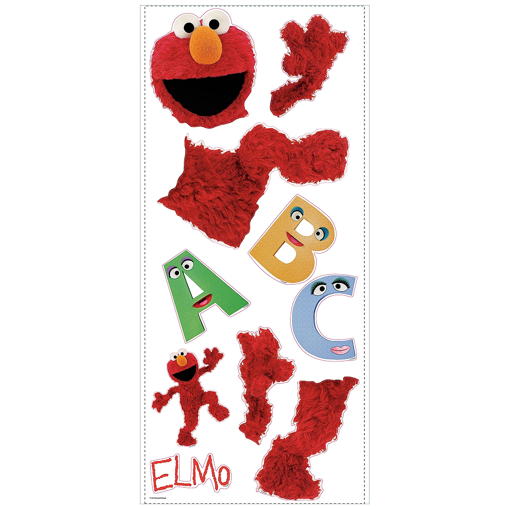 Elmo Wall Decals Image #2