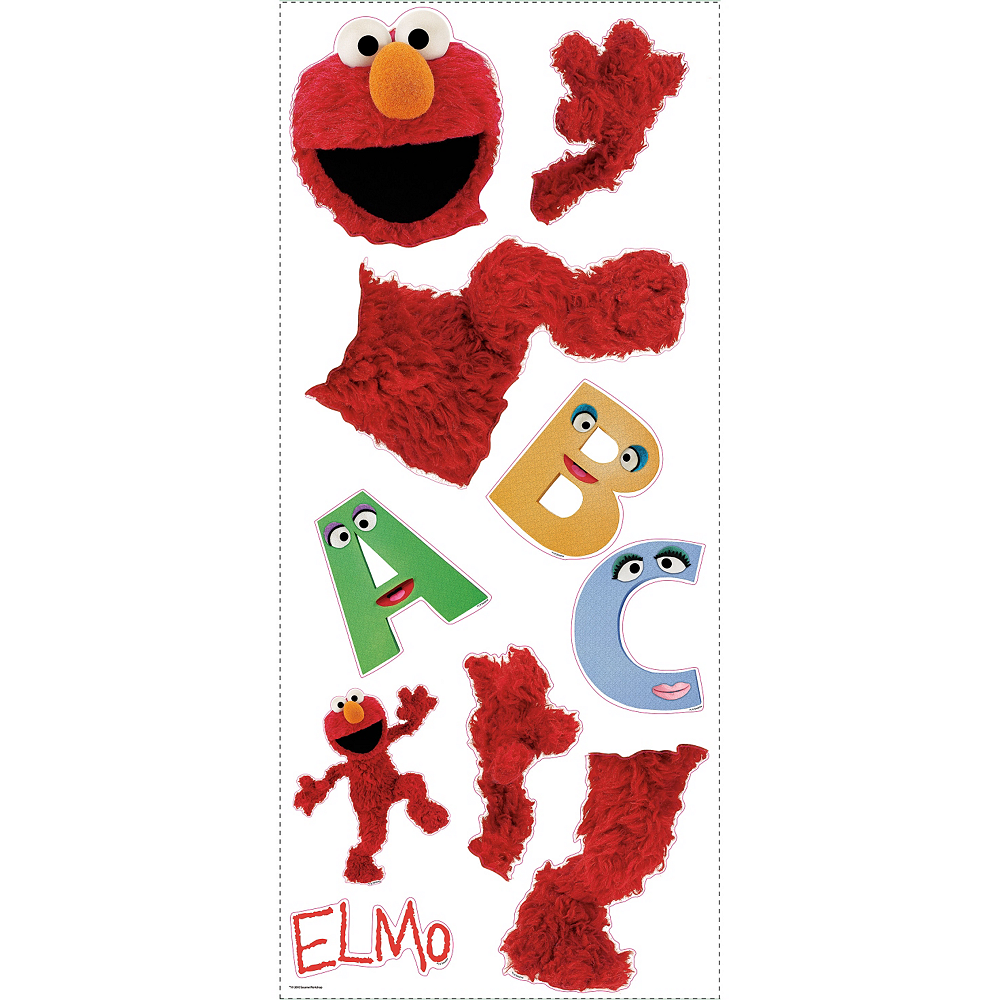 Elmo Wall Decals Image #3