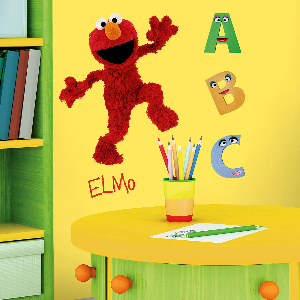 Elmo Wall Decals Image #4