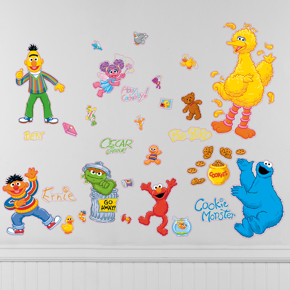 Sesame Street Wall Decals Image #1