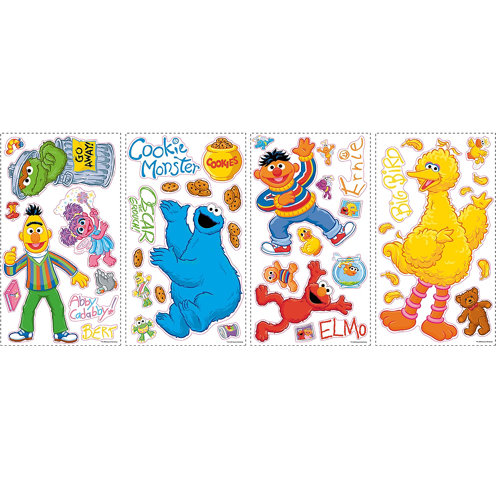 Sesame Street Wall Decals Image #2