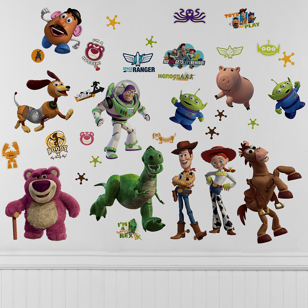 Toy Story Wall Decals Party City Canada