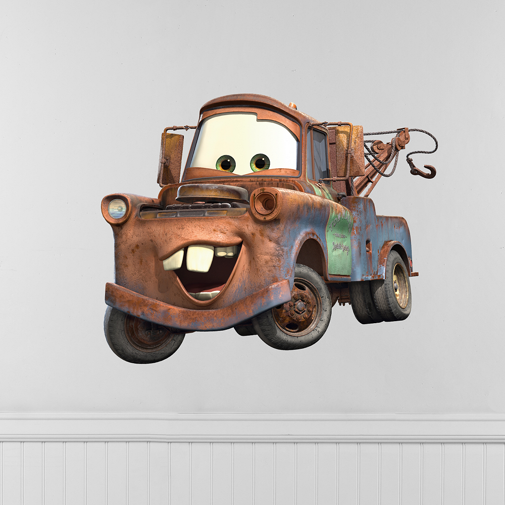 Cars Tow Mater Wall Decals Image #1