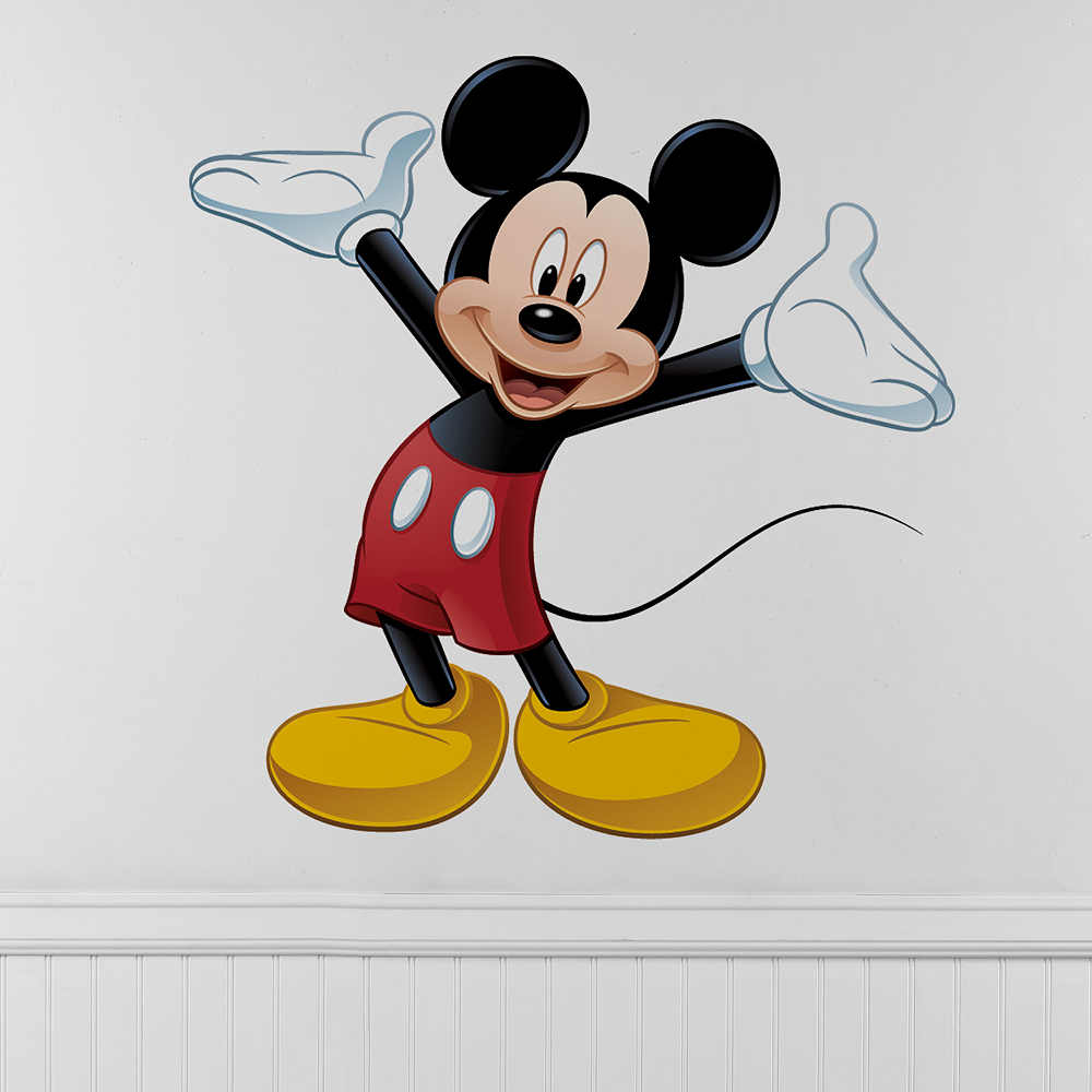 Mickey Mouse Wall Decals Image #1