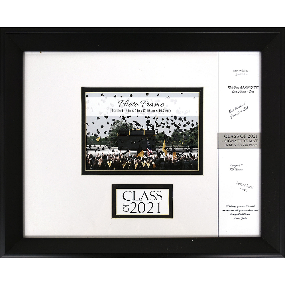 Class of 2020 Autograph Graduation Photo Frame Image #1