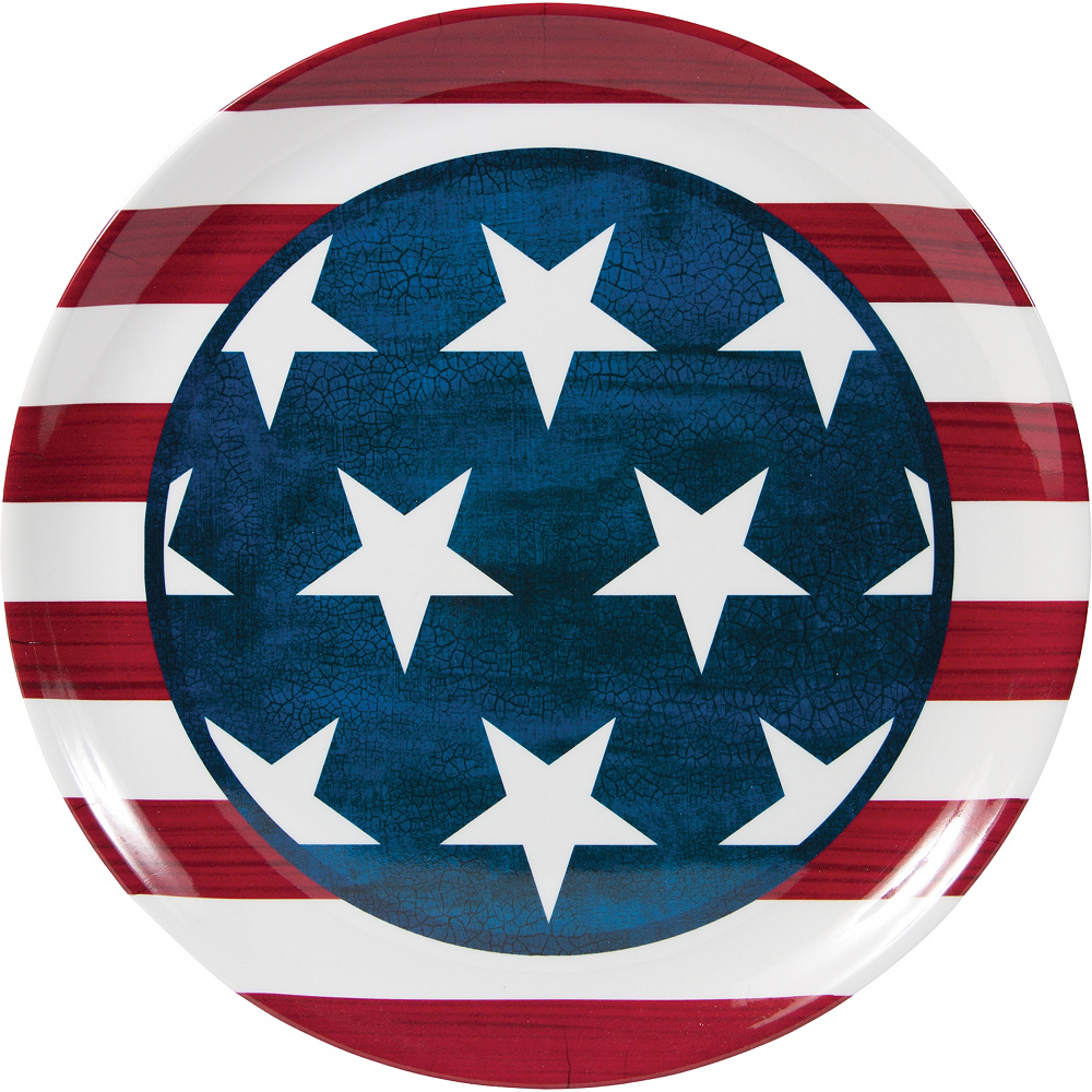 American Flag Platter Image #1