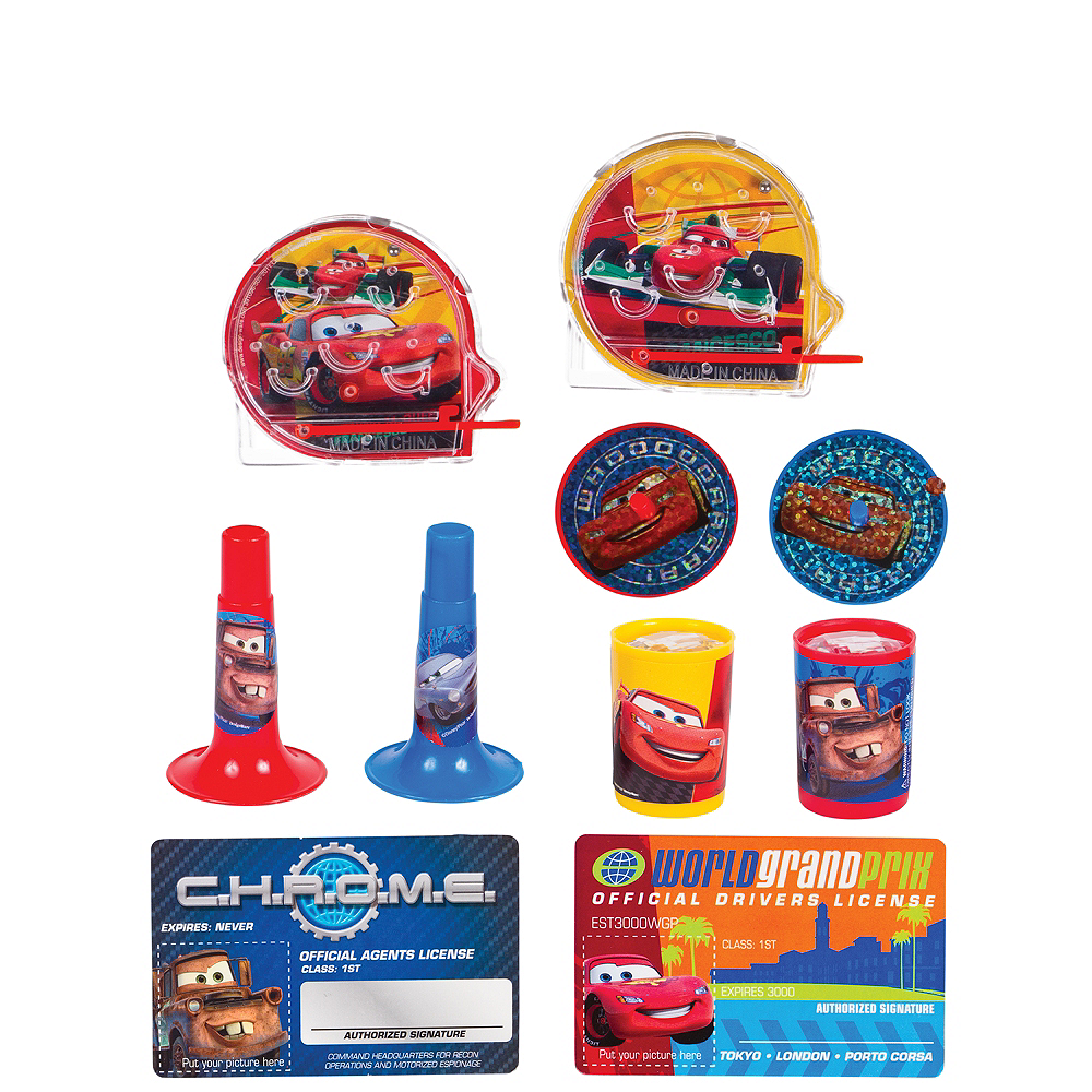 Cars Favor Pack 100pc Image #1