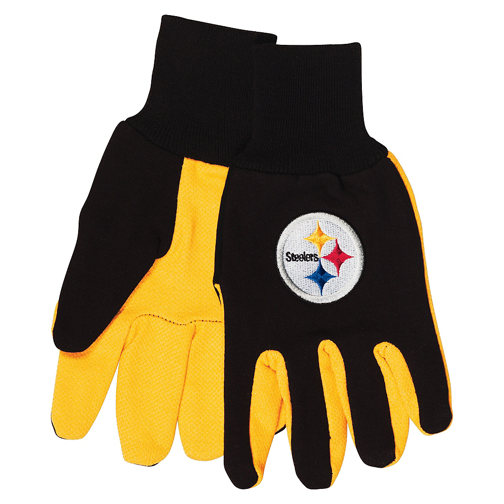 Pittsburgh Steelers Gloves Image #1