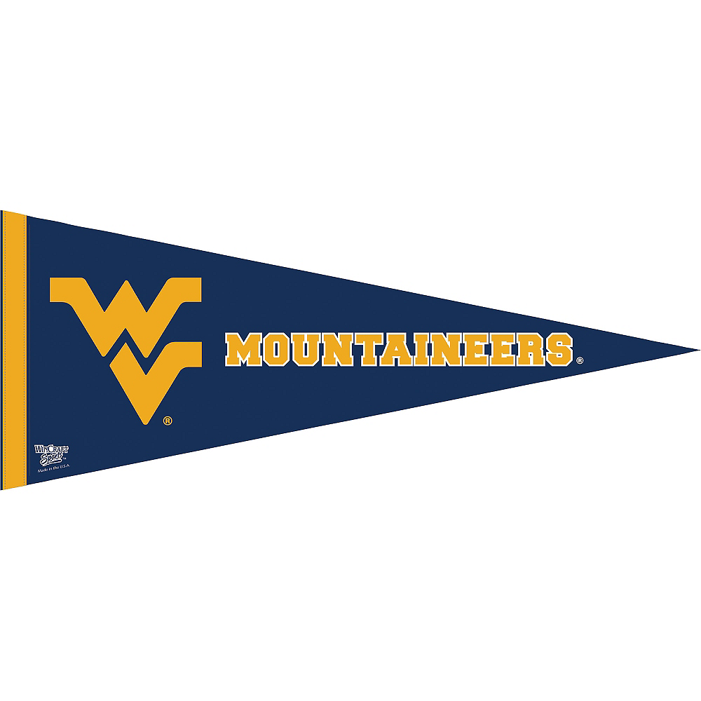 West Virginia Mountaineers Pennant Flag Image #1