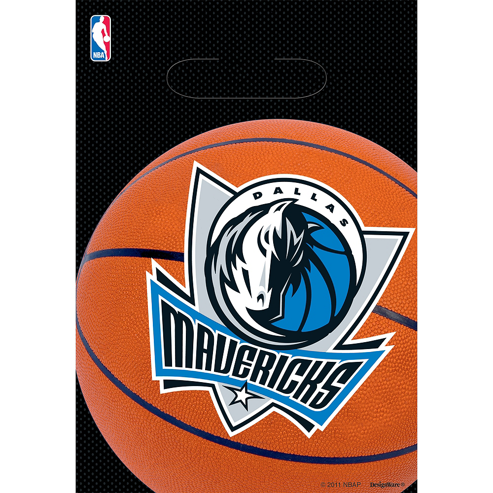 Dallas Mavericks Favor Bags 8ct Image #1