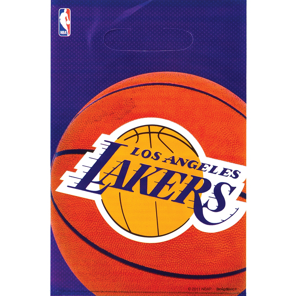 Los Angeles Lakers Favor Bags 8ct Image #1