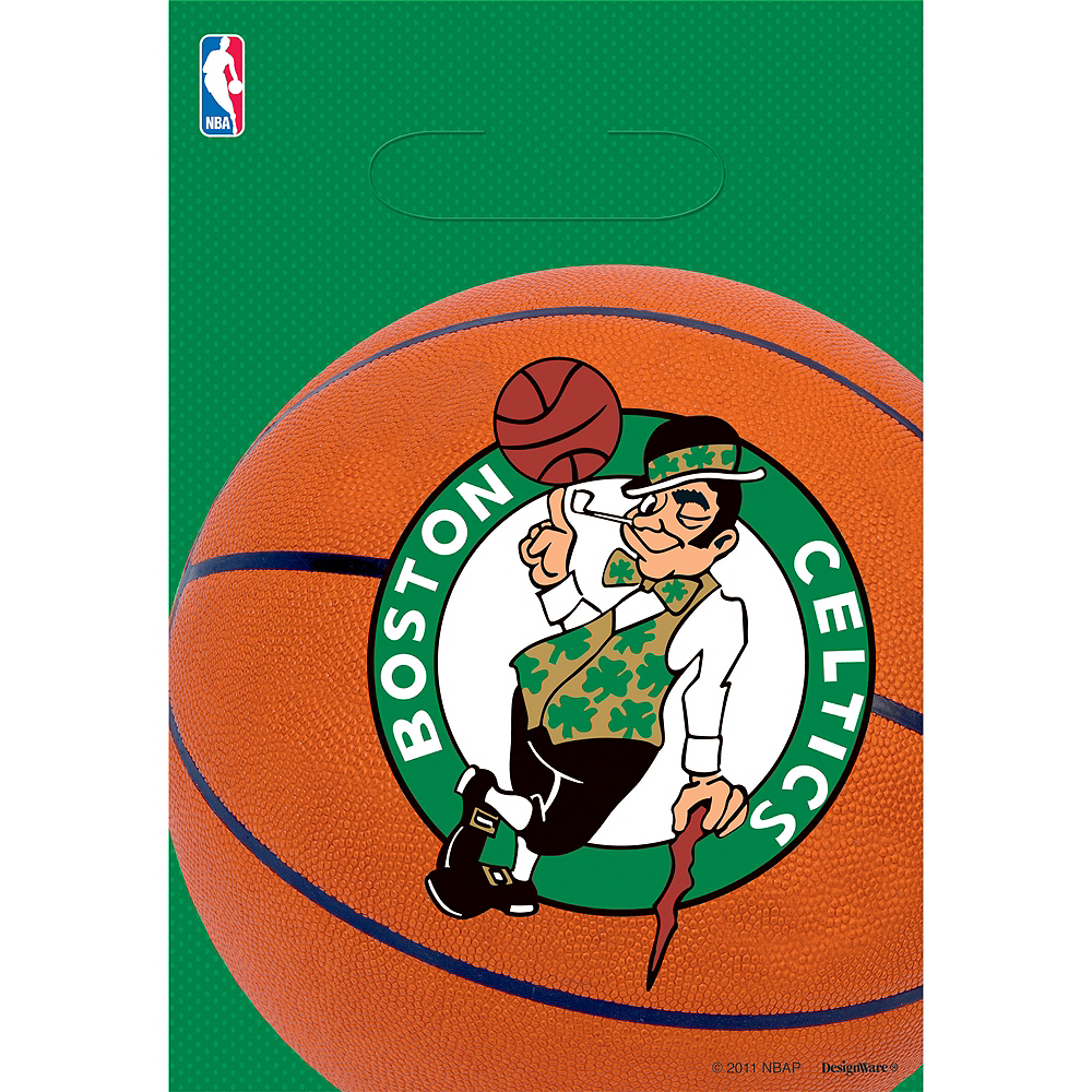 Boston Celtics Favor Bags 8ct Image #1