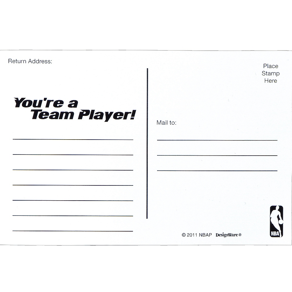 Spalding Basketball Invitations & Thank You Notes for 8 Image #3
