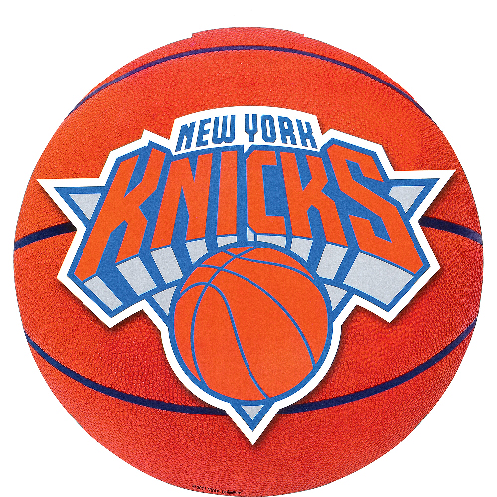 New York Knicks Cutout Image #1
