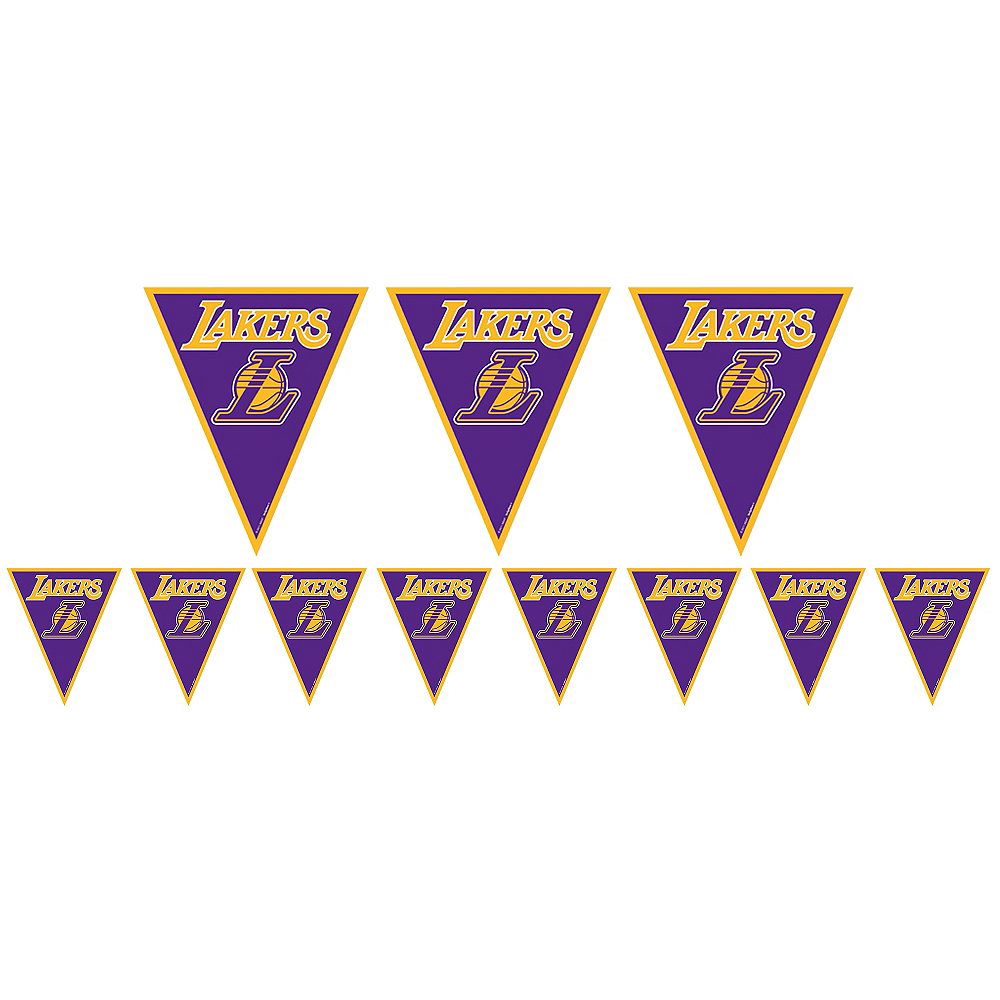 Los Angeles Lakers Pennant Banner Image #1