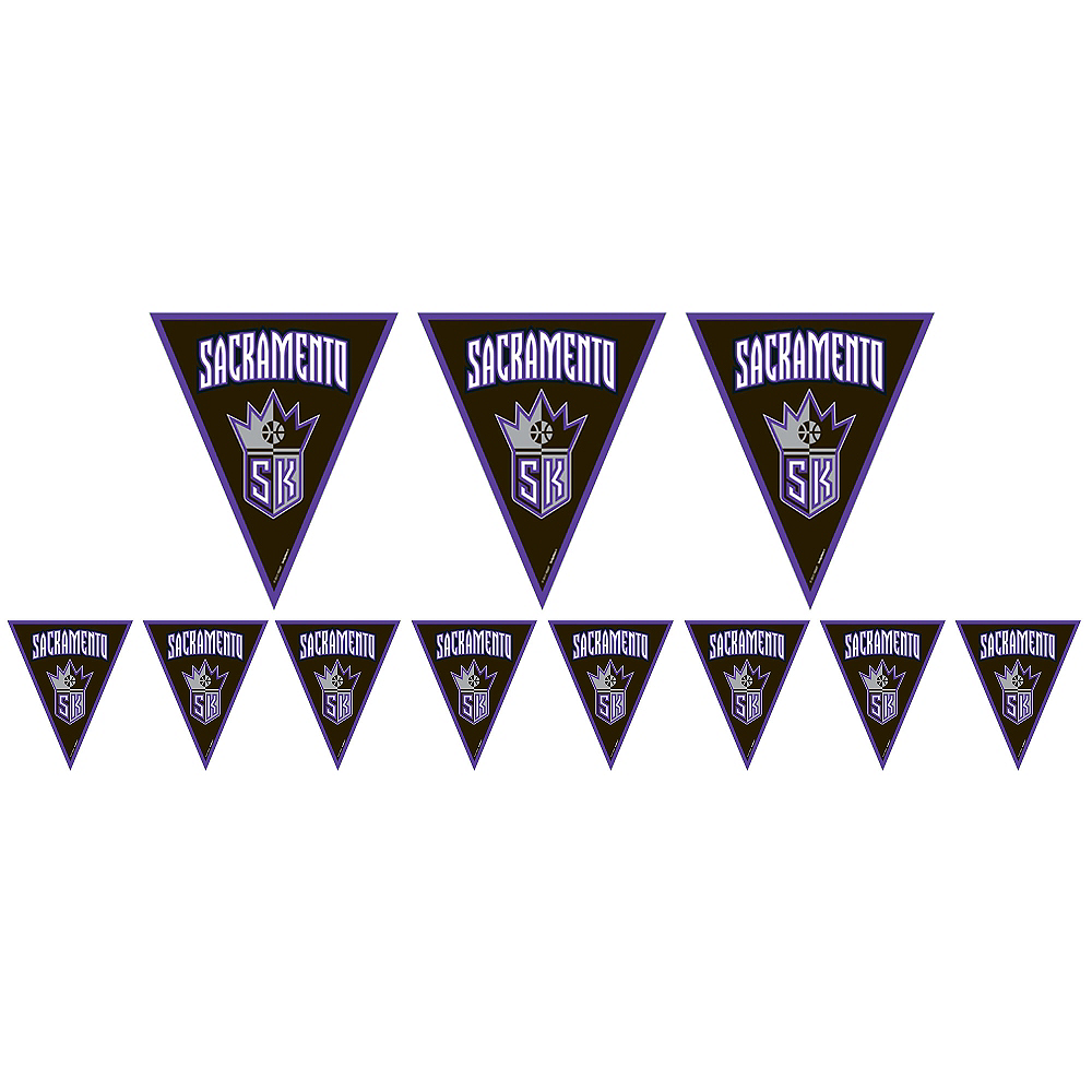Nav Item for Sacramento Kings Pennant Banner Image #1