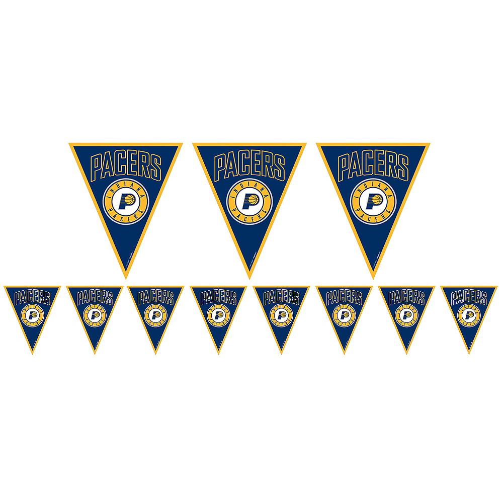 Indiana Pacers Pennant Banner Image #1