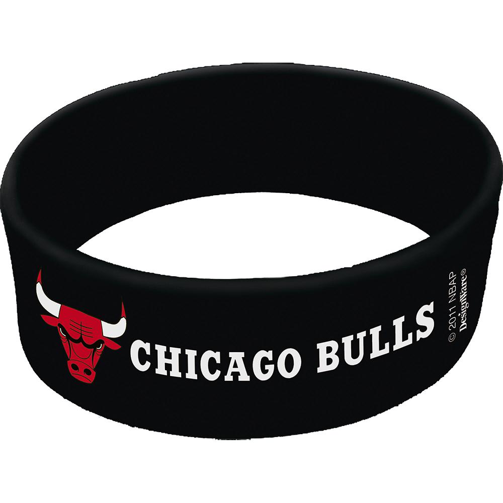 Chicago Bulls Wristbands 6ct Image #1