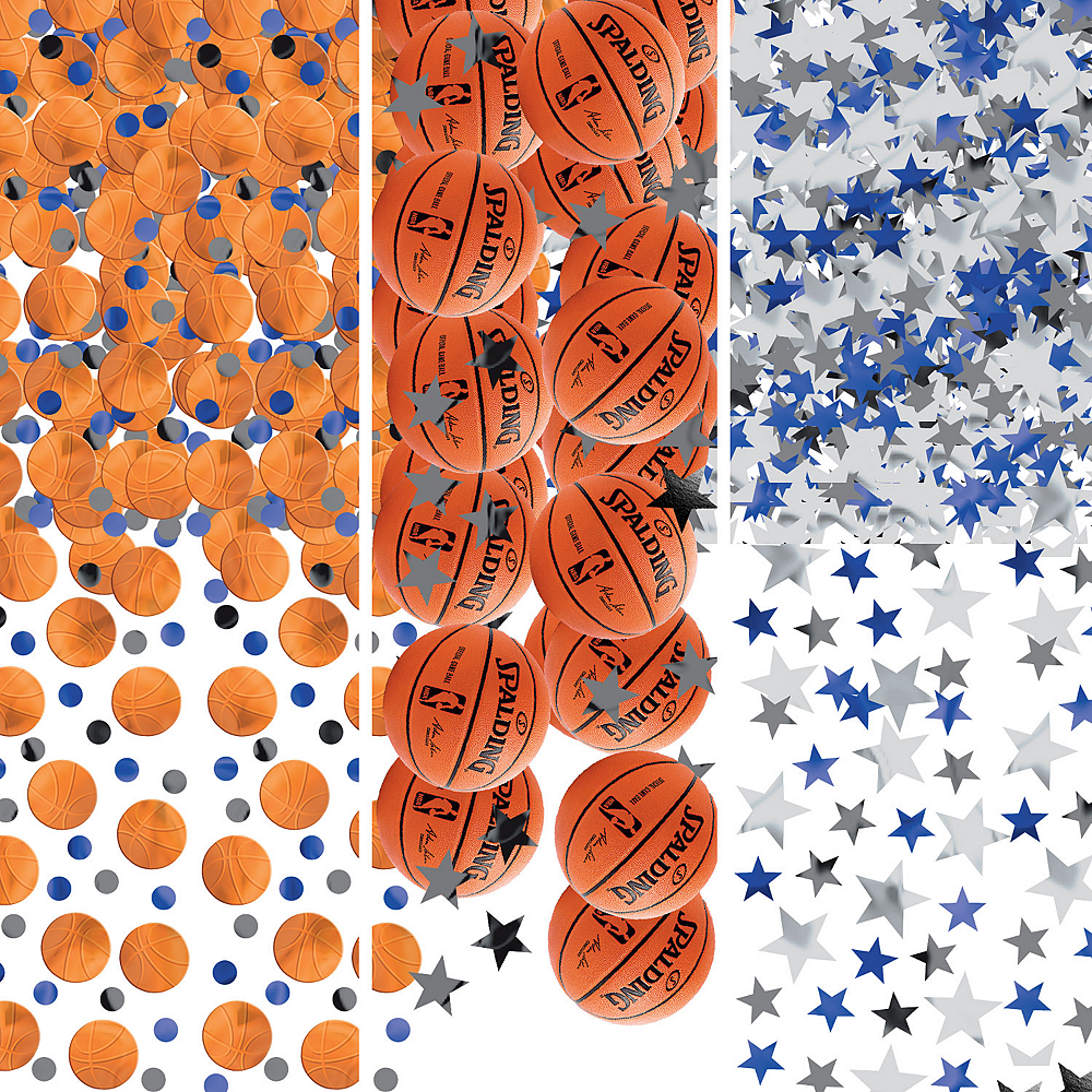Nav Item for Spalding Basketball Confetti Image #1