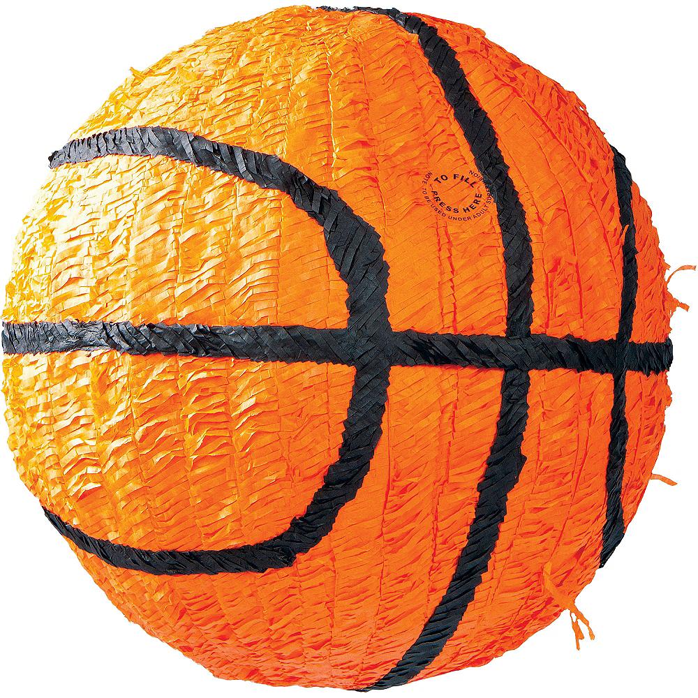 Jumbo Basketball Pinata 14in Image #1