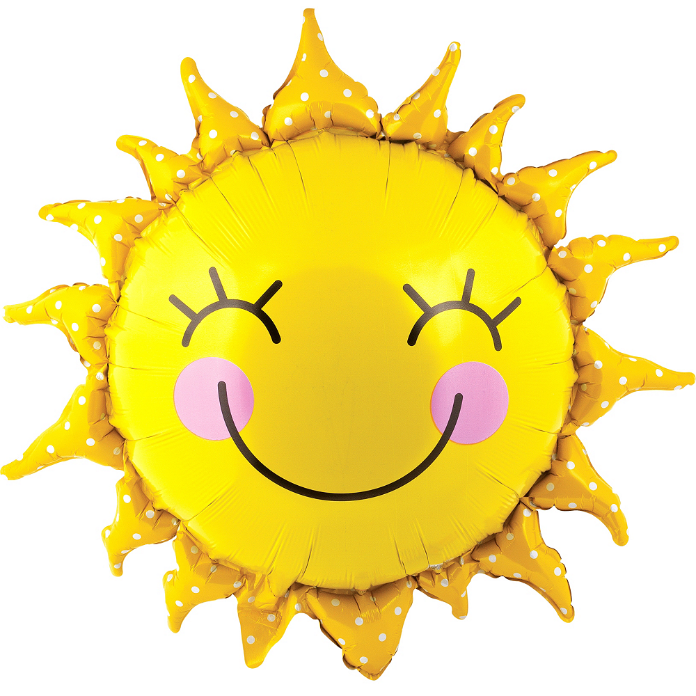 Smiling Sun Balloon, 26in Image #1