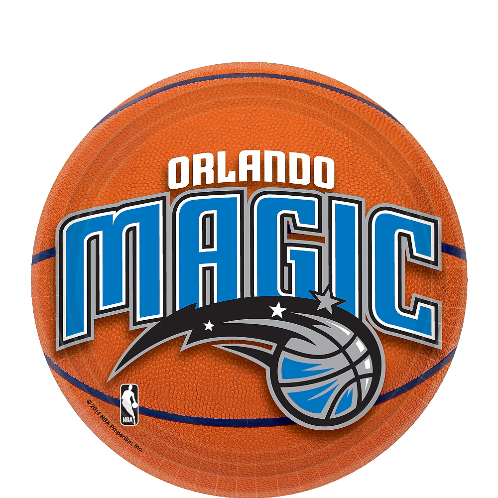 Orlando Magic Dessert Plates 8ct Image #1