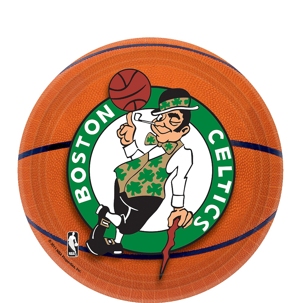 new concept 3c750 d3617 Boston Celtics Dessert Plates 8ct