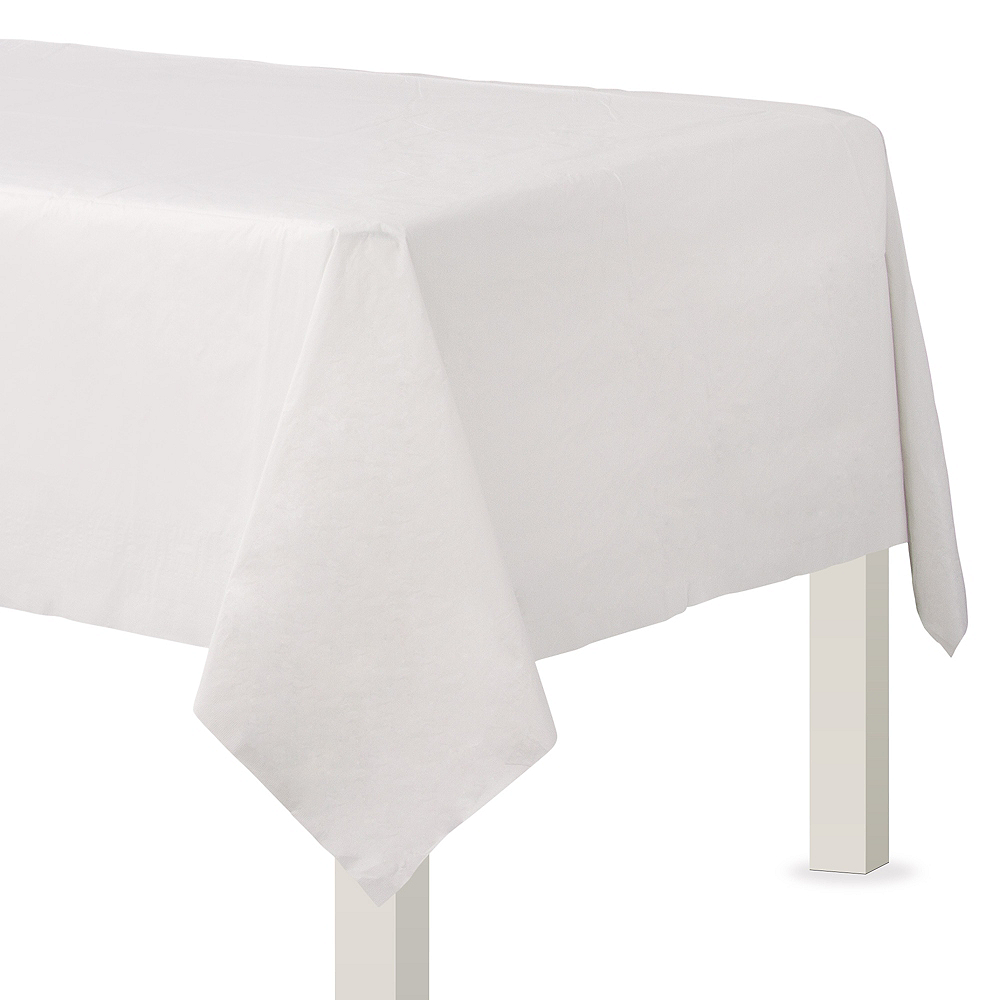White Paper Table Cover Image #1