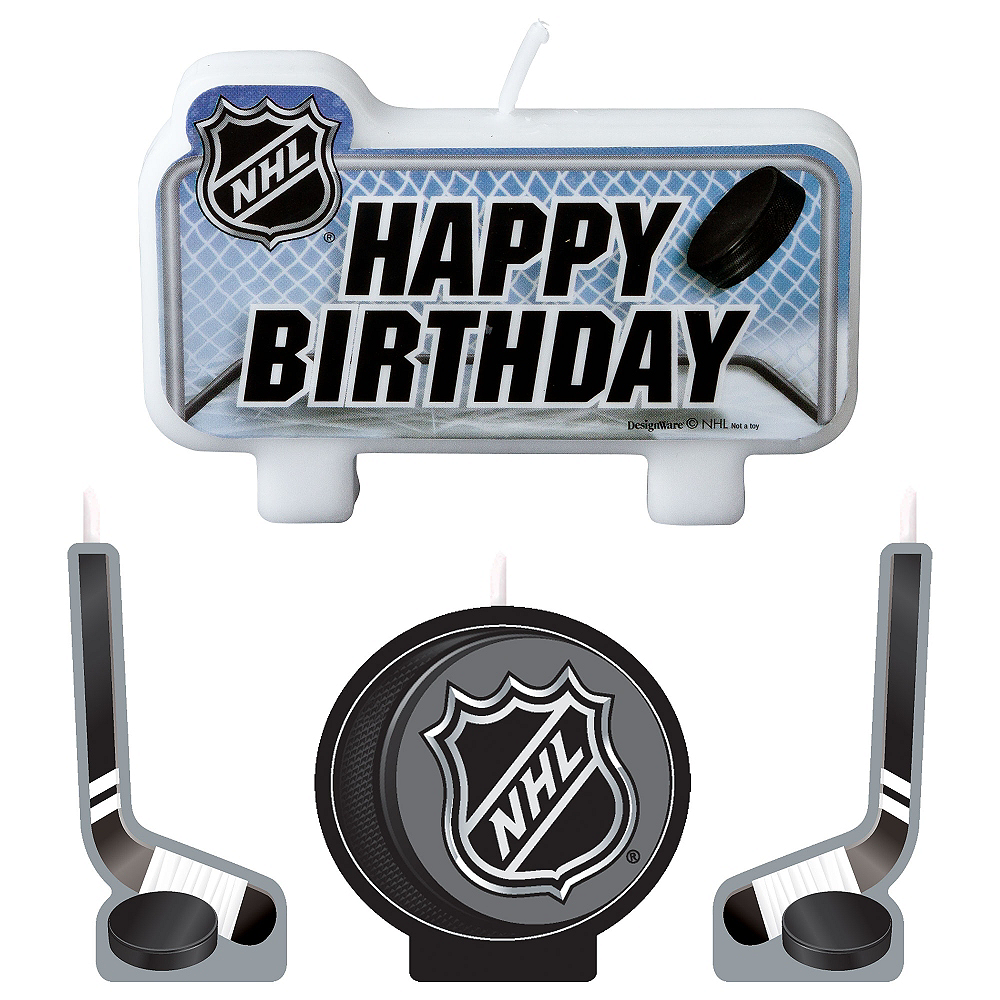 Nav Item for NHL Candle Set 4ct Image #1