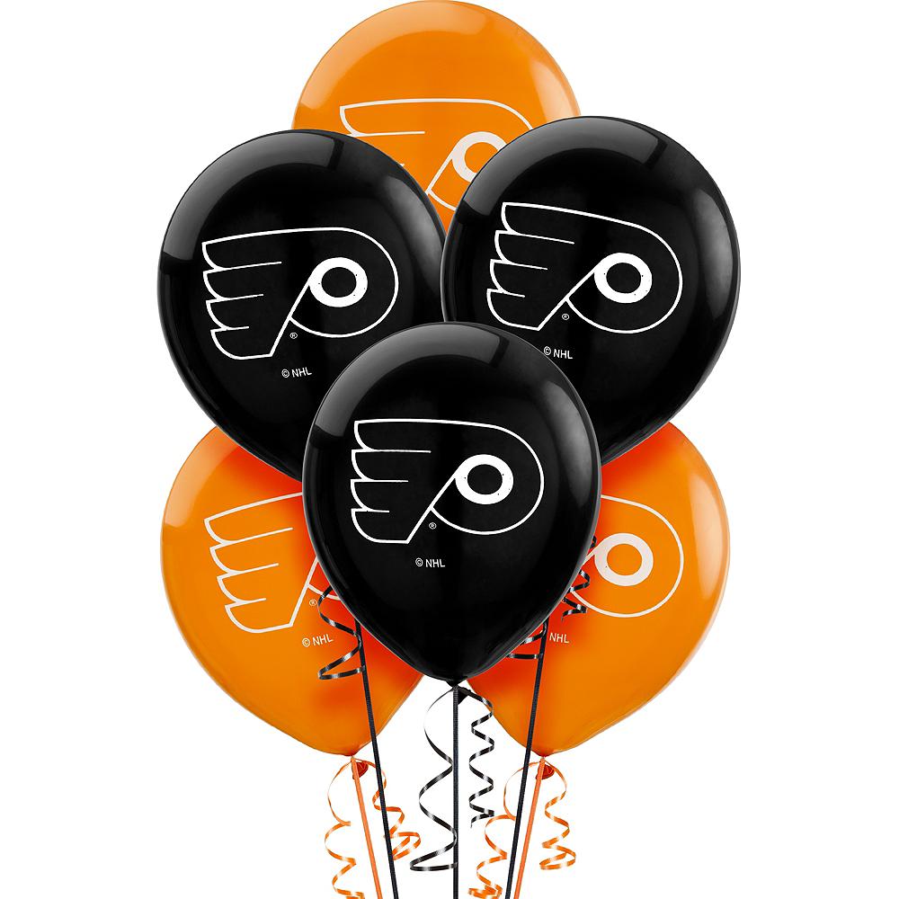 Philadelphia Flyers Balloons 6ct Image #1