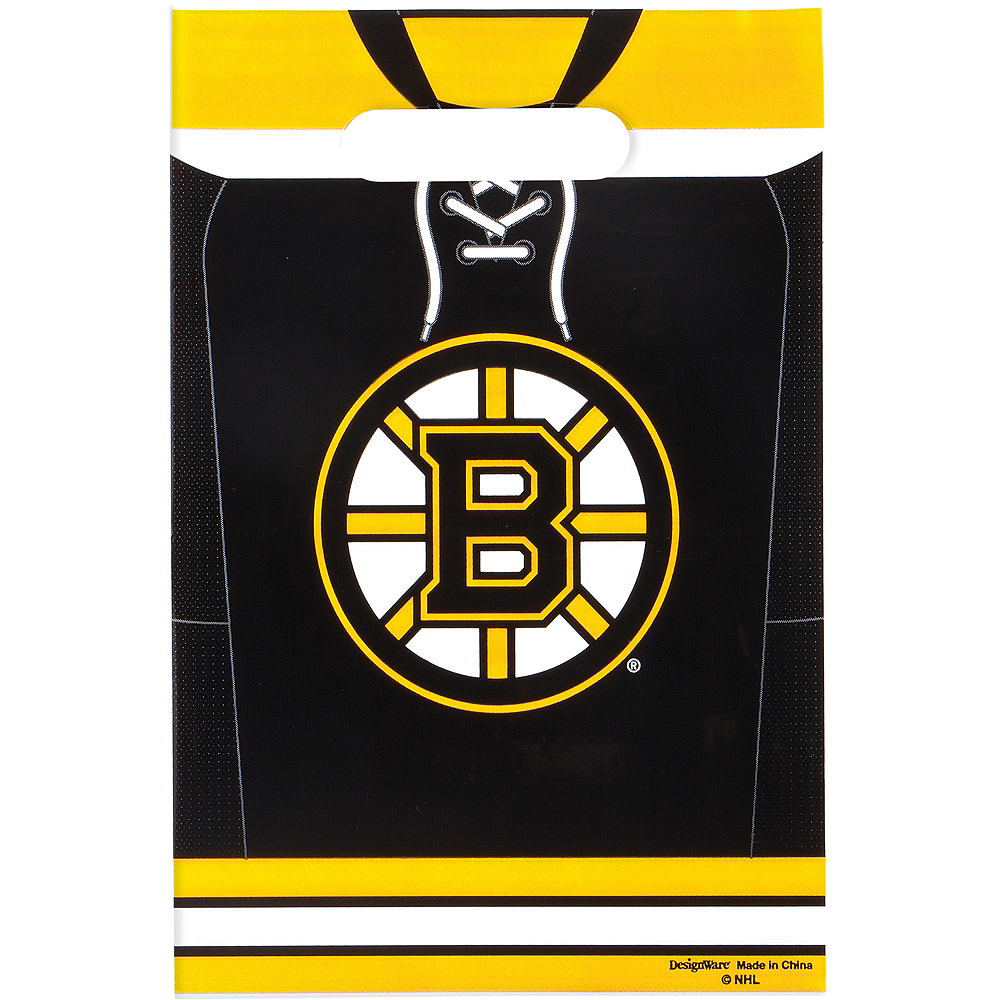 Boston Bruins Favor Bags 8ct Image #1