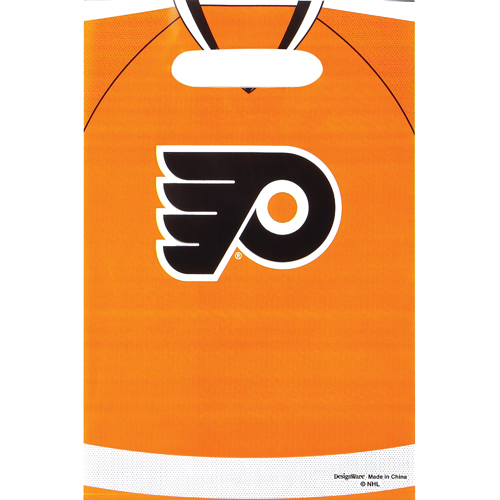 Philadelphia Flyers Favor Bags 8ct Image #1