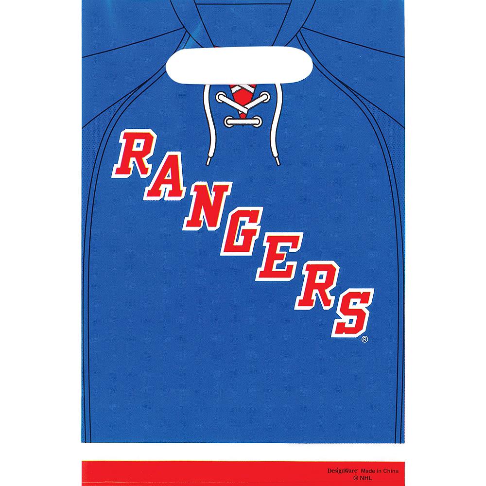 New York Rangers Favor Bags 8ct Image #1