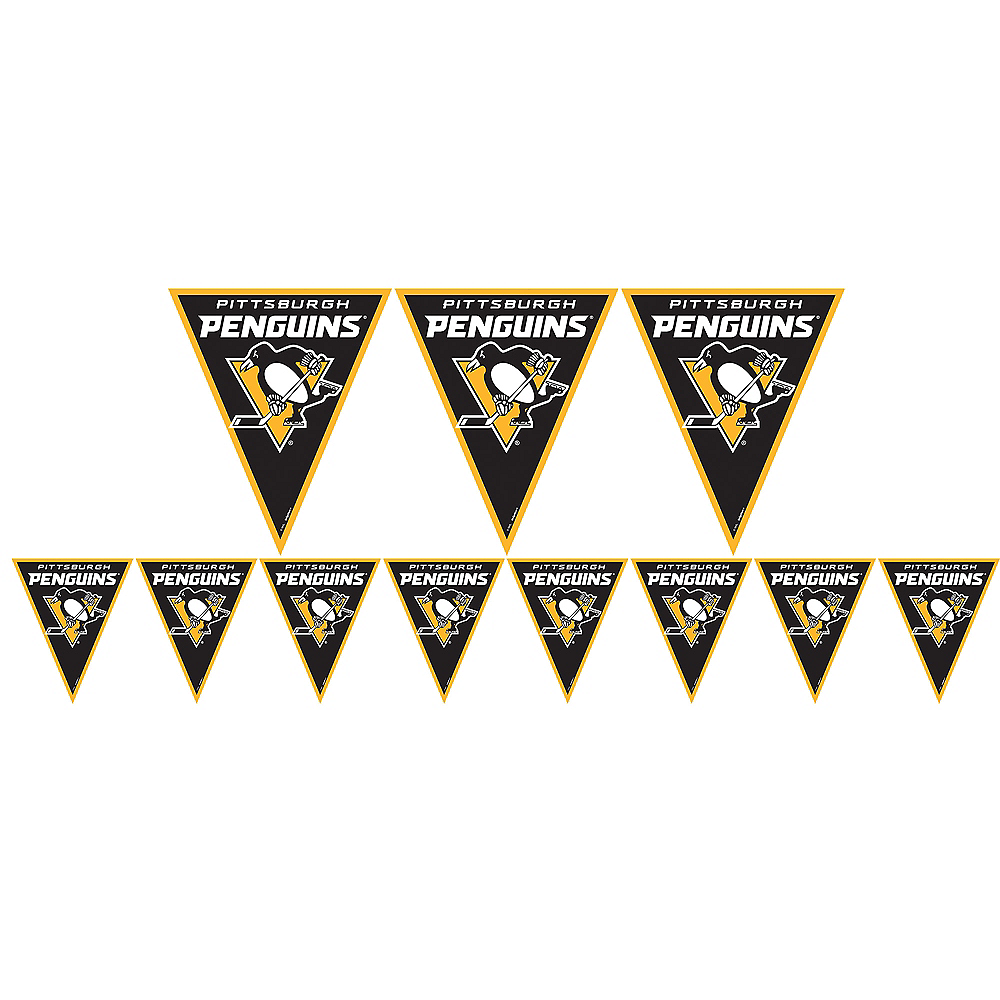 Nav Item for Pittsburgh Penguins Pennant Banner Image #1