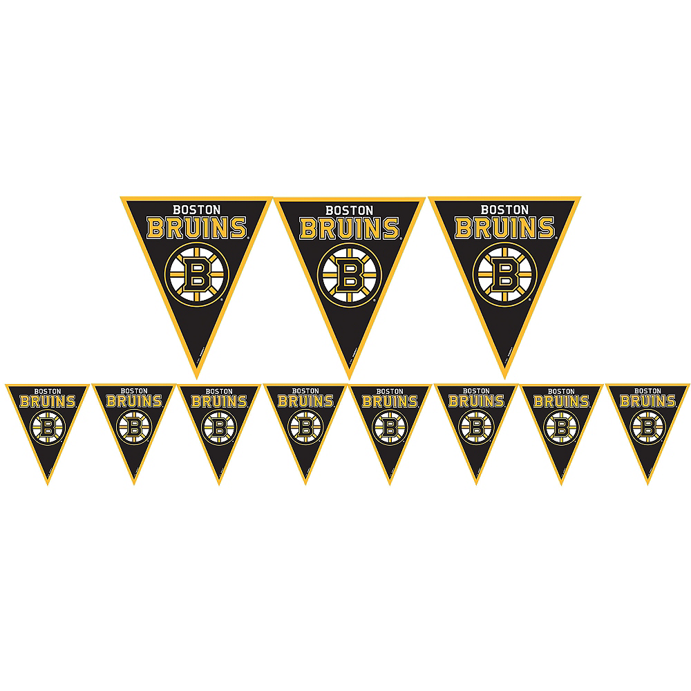 Boston Bruins Pennant Banner Image #1