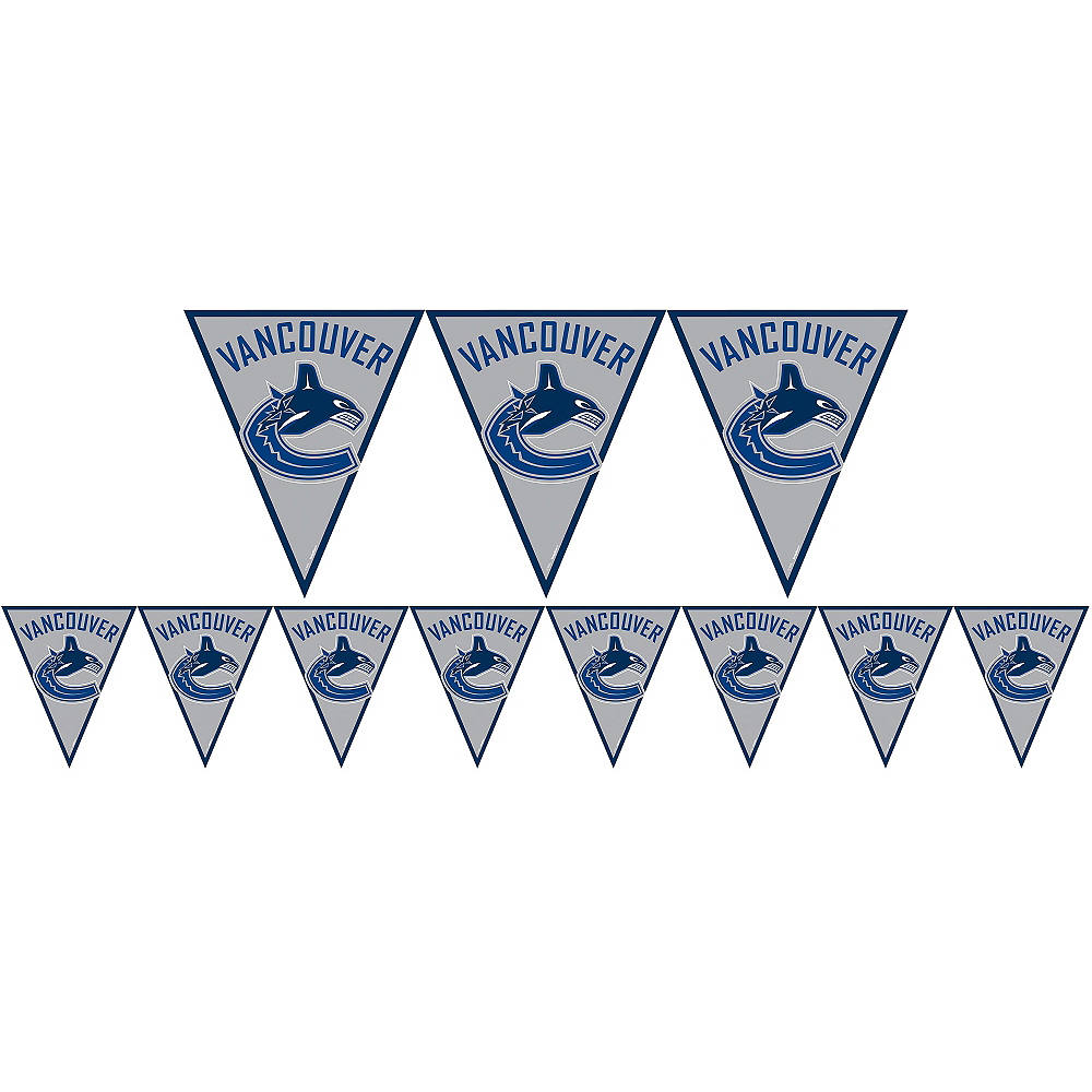 Vancouver Canucks Pennant Banner Image #1