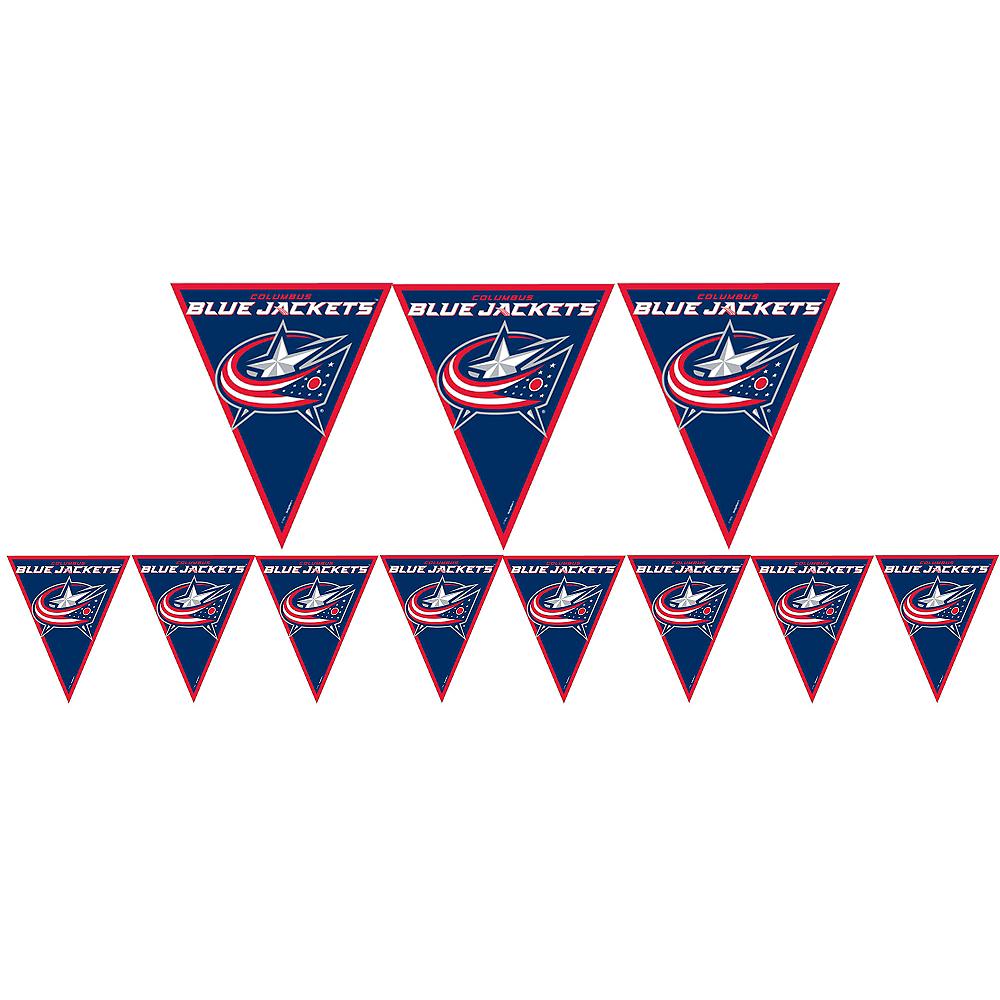 Columbus Blue Jackets Pennant Banner Image #1